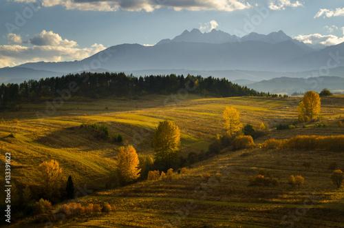 Photo  Tatras from Pieniny