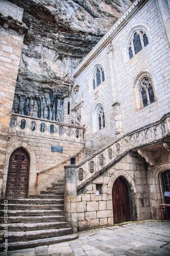 Fotografie, Obraz  Bâtiment intérieur du Sanctuaire de Rocamadour, Lot, France / Building inside th