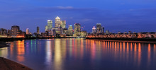 Canary Wharf Business District...