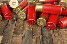 12 Gauge Red Hunting Cartridge...