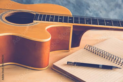 Fotografía composion guitar