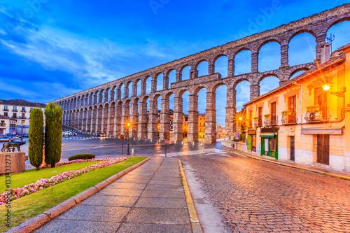 Poster Brugge Segovia, Spain.
