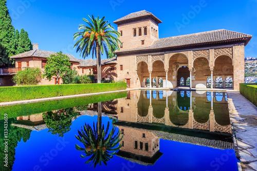 Alhambra, Granada, Spain. Wallpaper Mural