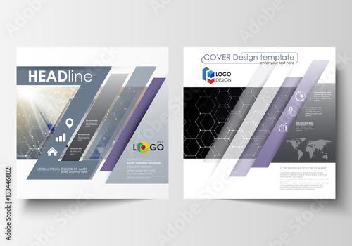 templates for square design brochure magazine flyer report