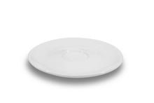 Flat White Shallow Porcelain S...