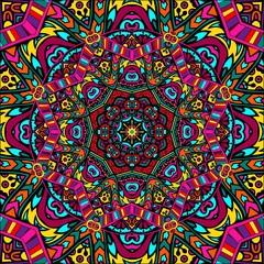 Panel Szklany Tło / Tekstura / Desenie Mandala