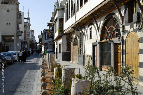 Street in Damascus - Syria (Before Civil War)