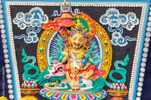 Poster Imagination トルマ、ツァンパで作られたチベット仏教のお供え物