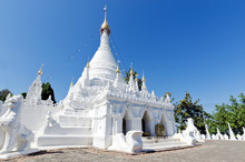White Buddha Pagoda Temple In ...