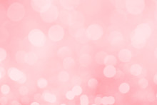 Abstract Blurred Pink Bokeh Li...