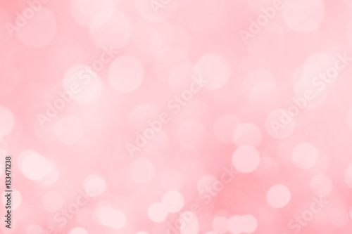 Cadres-photo bureau Roses Abstract blurred pink bokeh lights background.