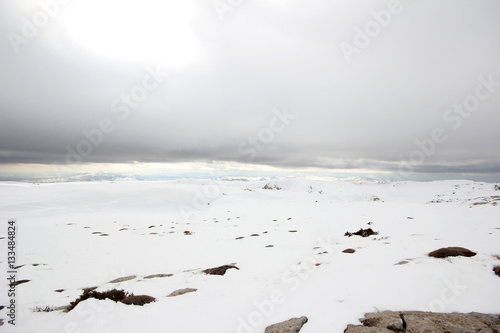 Foto op Plexiglas Alpinisme Snowy Mountains Turkey
