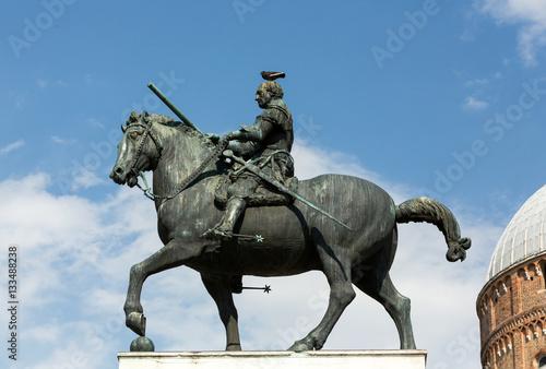 Equestrian statue of Gattamelata in Padua, Italy Wallpaper Mural