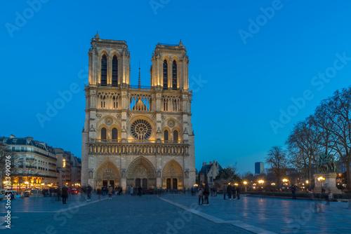 Fotografia  Paris notre Dame