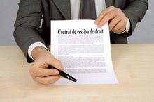 Signature Du Contrat De Cessio...