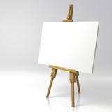 Wooden painter easel - 133496269