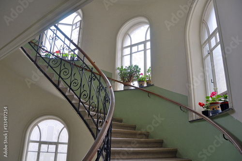 Photo Stands Stairs altes Treppenhaus