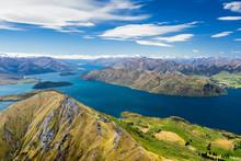 Lake Wanaka And Mt Aspiring, New Zealand