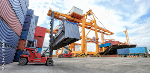 Industrial Container Cargo freight ship for Logistic Import Export