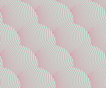 Seamless Tile With Feather Texture Pattern In Pink And Blue