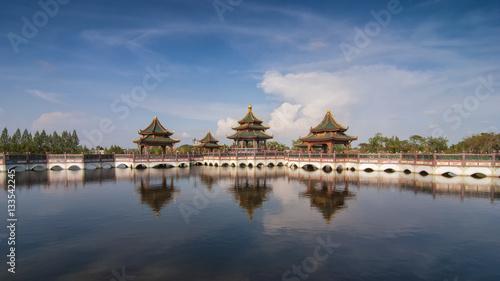 Ingelijste posters Beijing Ancient City in Thailand