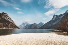 Shore Of An Austrian Lake