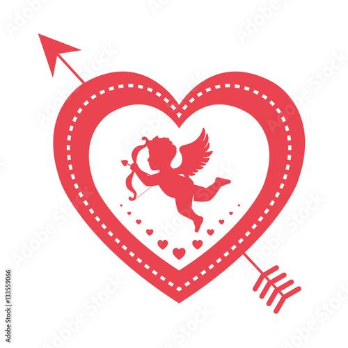 serce-z-amorkiem