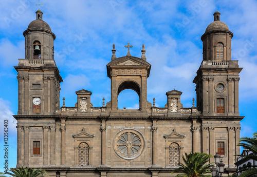 Catedral de Santa Ana en Las Palmas de Gran Canaria, España