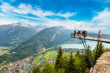 Observation Deck In Interlaken