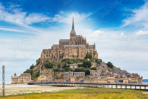 Photo  Mont Saint Michele, France