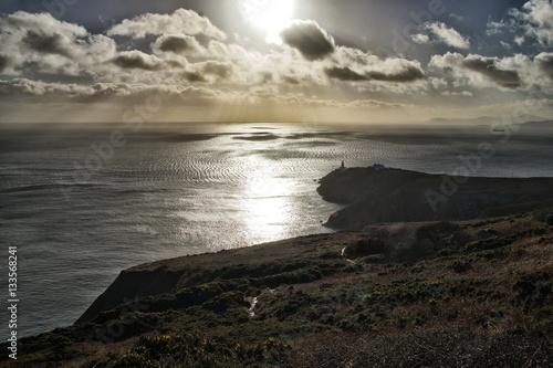 Printed kitchen splashbacks Canary Islands Ireland coast with lighthouse in background