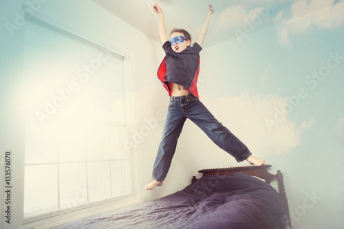 Photo  Super hero flying