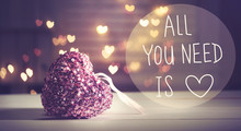 All You Need Is Love Message W...
