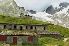Rifugio Elisabetta In Val Veny In Italy Along The Tour Du Mont Blanc