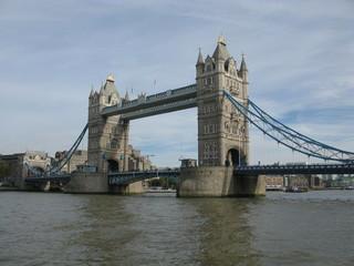 Fototapeta na wymiar London, United Kingdom - October 27, 2016: Tower Bridge in London by day