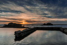Sunset Over Sutro Baths, San F...