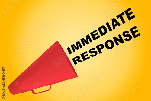 Fotografie, Obraz  Immediate Response concept