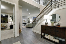 Open Plan Entryway In New Construction Home