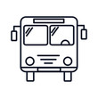 Bus Icon Illustration Isolated Vector Sign Symbol