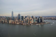 Aerial View of Downtown New York