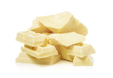 White Chocolate And Cocoa Butter Pieces