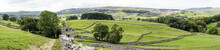 Horton In Ribblesdale Panorama
