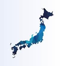 Polygonal Map Of Japan