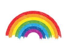 Vector Colorful Rainbow Illustration