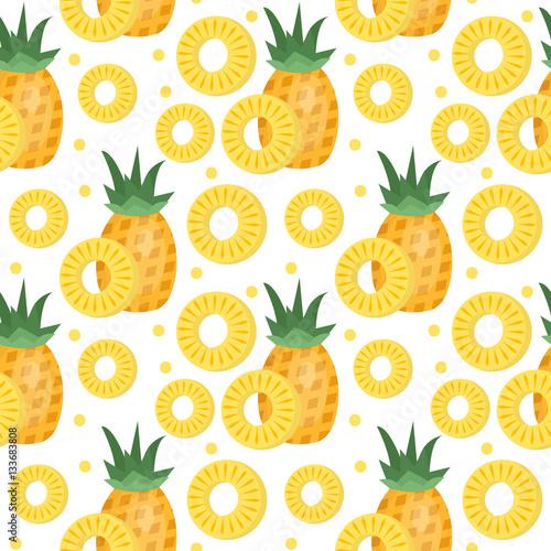 ananasowy-bezszwowy-wzor-ananas-plasterki-niekonczace-sie-tlo-tekstura-tlo-owocow-ilustracji-wektorowych