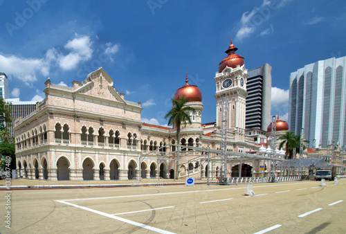 Sultan Abdul Samad Building in KL city Wallpaper Mural