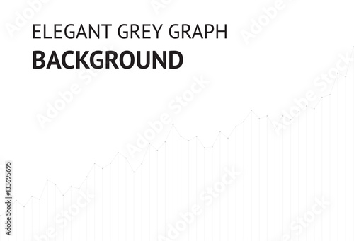 vector elegant grey graph website background eps10 buy this stock