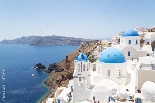 Fototapety, obrazy: Santorini