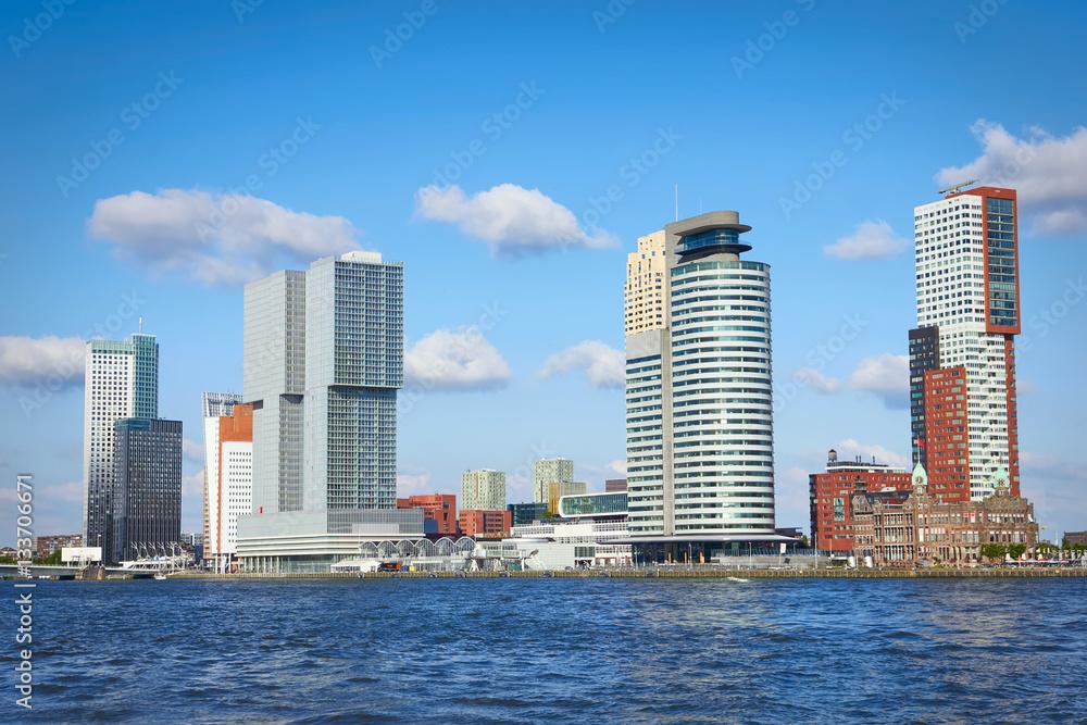 Photo & Art Print Rotterdam skyline | EuroPosters