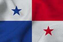Panama Flag 3D Illustration Sy...
